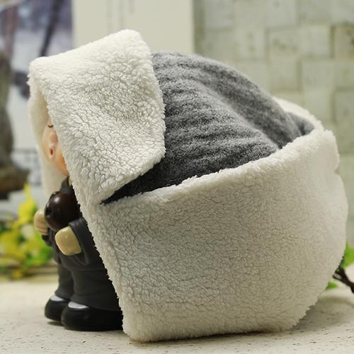 귀달이 양털 모자/연꽃세상/스님겨울모자/스님털모자/스님법복/불교용품