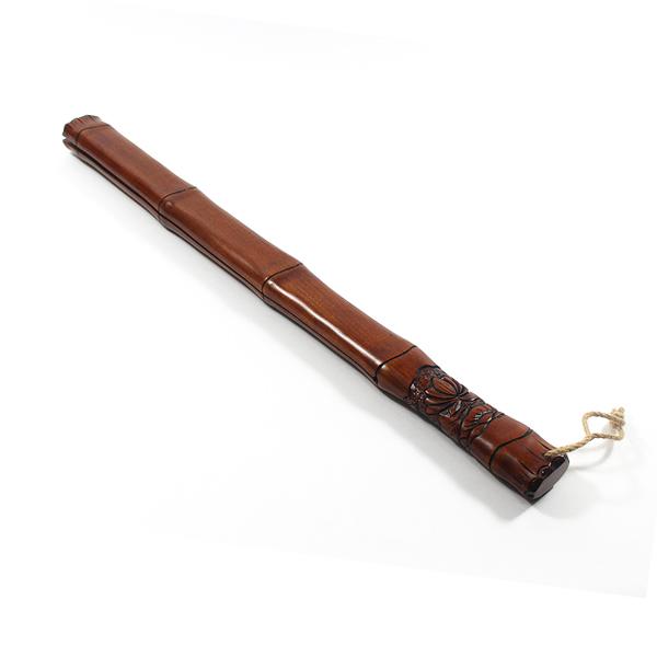 옻칠 죽비 65cm (중) - 살구나무죽비/영천죽비